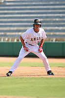 Andrew Romine - Mesa Solar Sox - 2010 Arizona Fall League.Photo by:  Bill Mitchell/Four Seam Images..
