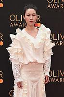 Eleanor Matsora<br /> arriving for the Olivier Awards 2019 at the Royal Albert Hall, London<br /> <br /> ©Ash Knotek  D3492  07/04/2019