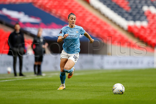 1st November 2020; Wembley Stadium, London, England; Womens FA Cup Final Football, Everton Womens versus Manchester City Womens; Lucy Bronze of Manchester City Women