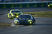 #57 Heinricher Racing w/MSR Curb-Agajanian Acura NSX GT3, GTD: Alvaro Parente, Misha Goikhberg, Trent Hindman, AJ Allmendinger