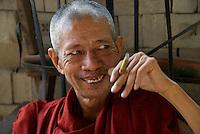 Yangon Monastery, Myanmar