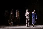 MAY B (créé le 4 novembre 1981 au Théâtre Municipal d'Angers)..1h30<br /> <br /> Chorégraphie : MARIN Maguy<br /> Compositeur : Franz Schubert, Gilles de Binche, Gavin Bryars<br /> Compagnie : Compagnie Maguy Marin<br /> Lumiere : Alexandre Beneteaud<br /> Costumes : Louise Marin<br /> Avec : Ulises Alvares, Kais Chouibi, Laura Frigato, Françoise Leick, Louise Mariotte, Cathy Polo, Agnès Potié, Rolando Rocha, Ennio Sammarco, Marcelo Sepulveda<br /> Compagnie : Maguy Marin<br /> Date : 28/02/2019<br /> Lieu : Espace Cardin - Théâtre de la Ville<br /> Ville : Paris