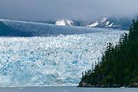 Meares glacier, Prince William Sound, Alaska