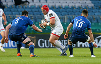 Friday 14th May 2021; Eric O'Sullivan during the Guinness PRO14 Rainbow Cup Round 3 clash between Leinster and Ulster at The RDS Arena, Ballsbridge, Dublin, Ireland. Photo by John Dickson/Dicksondigital