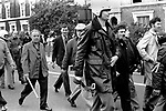 National Front march to Lewisham London 1977. <br /> Police protect members of the National Front, during the so-called Battle of Lewisham, which took place on 13 August. 500 members of the National Front marched from New Cross to Lewisham, various counter-demonstrations by approximately 4,000 people led to violent clashes between the two groups and between the anti-NF demonstrators and police. 5,000 police officers were present and 56 officers were injured in the riots, 11 of whom were hospitalised. 214 people were arrested for obstructing the police, threatening behaviour, assault, possession of an offensive weapon and throwing missiles. Later disturbances in Lewisham town centre saw the first use of police riot shields on the UK mainland.