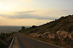 Israel, Jerusalem Mountains, the road to Stalactites Cave Nature Reserve