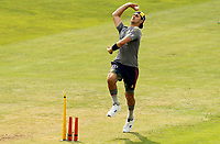 Jack Plom of Essex warms up prior to Essex Eagles vs Surrey, Vitality Blast T20 Cricket at The Cloudfm County Ground on 11th September 2020