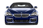 Car photography straight front view of a 2015 BMW 6 Series M Sport 2 Door Coupe