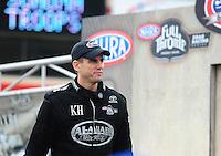 Jul. 31, 2011; Sonoma, CA, USA; NHRA top fuel dragster driver Larry Dixon during the Fram Autolite Nationals at Infineon Raceway. Mandatory Credit: Mark J. Rebilas-