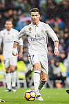 Cristiano Ronaldo of Real Madrid in action during their La Liga match between Real Madrid and Real Sociedad at the Santiago Bernabeu Stadium on 29 January 2017 in Madrid, Spain. Photo by Diego Gonzalez Souto / Power Sport Images