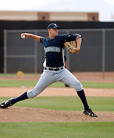 Blake Nation -  Seattle Mariners - 2009 spring training.Photo by:  Bill Mitchell/Four Seam Images