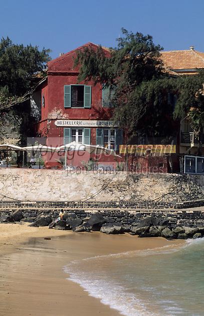 Afrique/Afrique de l'Ouest/Sénégal/Gorée : Hostellerie du Chevalier de Boufflers