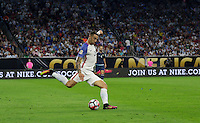 Houston, TX - June 21, 2016: The U.S. Men's National team go down 0-2 to Argentina in first half action in Semifinal play at the 2016 Copa America Centenario at NRG Stadium.