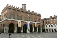 Palazzo Comunale di Cremona.<br /> Communal Palace of Cremona.<br /> UPDATE IMAGES PRESS/Riccardo De Luca