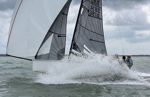 Stephen Procter's SB20 Class Xcellent scored their fourth win of the regatta to take the title by a handsome margin © Rick Tomlinson