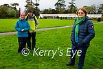 Maureen and John Beecher and Rita Kelliher enjoying a stroll in Muckross Gardens on Saturday.