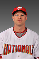 14 March 2008: ..Portrait of Joe Napoli, Washington Nationals Minor League player at Spring Training Camp 2008..Mandatory Photo Credit: Ed Wolfstein Photo