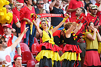 COPENHAGEN, DENMARK - JUNE 17 : Illustration of Belgian fans during the 16th UEFA Euro 2020 Championship Group B match between Denmark and Belgium on June 17, 2021 in Copenhagen, Denmark, 17/06/2021  <br /> Photo Photonews / Panoramic / Insidefoto <br /> ITALY ONLY