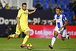 CD Leganes' Darwin Machis (r) and Villarreal CF's Mario Gaspar during La Liga match. December 3,2016. (ALTERPHOTOS/Acero)