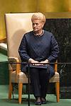 LOS general debate – 27 September<br /> <br /> AM<br /> <br /> Her Excellency Dalia Grybauskaite, President, Republic of Lithuania