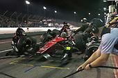 Verizon IndyCar Series<br /> Bommarito Automotive Group 500<br /> Gateway Motorsports Park, Madison, IL USA<br /> Saturday 26 August 2017<br /> Sebastian Saavedra, Schmidt Peterson Motorsports Honda Pit stop<br /> World Copyright: Perry Nelson<br /> LAT Images