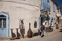 Antique shop in Alacati, Turkey