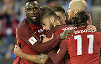 San Jose, CA - March 24, 2017: The U.S. Men's National team go on to defeat Honduras 6-0 with Clint Dempsey contributing a goal during their 2018 FIFA World Cup Qualifying Hexagonal match at Avaya Stadium.