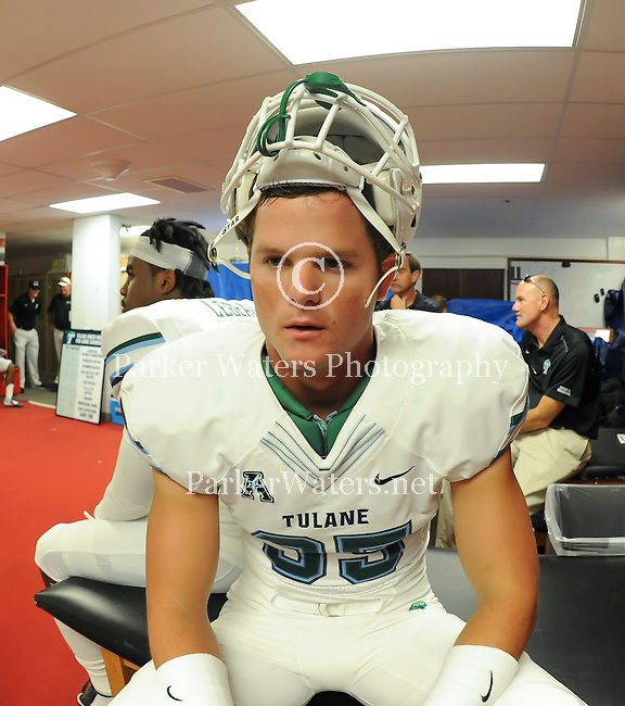 Tulane football falls to Rutgers, 31-6, at High Point Solutions Stadium.