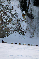 John Baker on Yukon River Near Ruby Alaska<br /> 2004 Iditarod