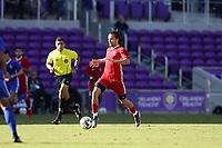 Orlando, Florida - Monday January 15, 2018: Manuel Cordeiro. Match Day 2 of the 2018 adidas MLS Player Combine was held Orlando City Stadium.