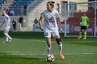 Bridgeview, IL - Saturday April 22, 2017: Yael Averbuch during a regular season National Women's Soccer League (NWSL) match between the Chicago Red Stars and FC Kansas City at Toyota Park.