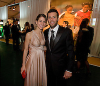 Ben Olsen, Megan Olsen.  The 2010 US Soccer Foundation Gala was held at City Center in Washington, DC.