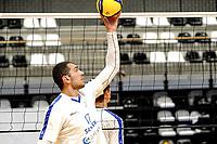 GRONINGEN - Volleybal, Eerste training Amysoft Lycurgus , seizoen 2021-2022, 17-08-2021,  Niels de Vries