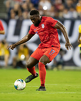 NASHVILLE, TN - JULY 3: Jozy Altidore #17 during a game between Jamaica and USMNT at Nissan Stadium on July 3, 2019 in Nashville, Tennessee.