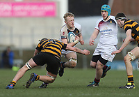 Wednesday 7th March 2018    RBAI vs Royal School Armagh<br /> <br /> Aaron Woods during the Ulster Schools Cup Semi-Final between RBAI vs Royal School Armagh Stadium, Ravenhill Park, Belfast, Northern Ireland. Photo by John Dickson / DICKSONDIGITAL