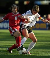 Bettina Weigmann(Germany) v Kristina Kiss (Canada)2003 WWC Germany/Canada