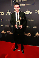 PIERRICK CAPELLE auteur du plus beau but de ligue 1 - 25eme Ceremonie des Trophees UNFP au Pavillon Gabriel