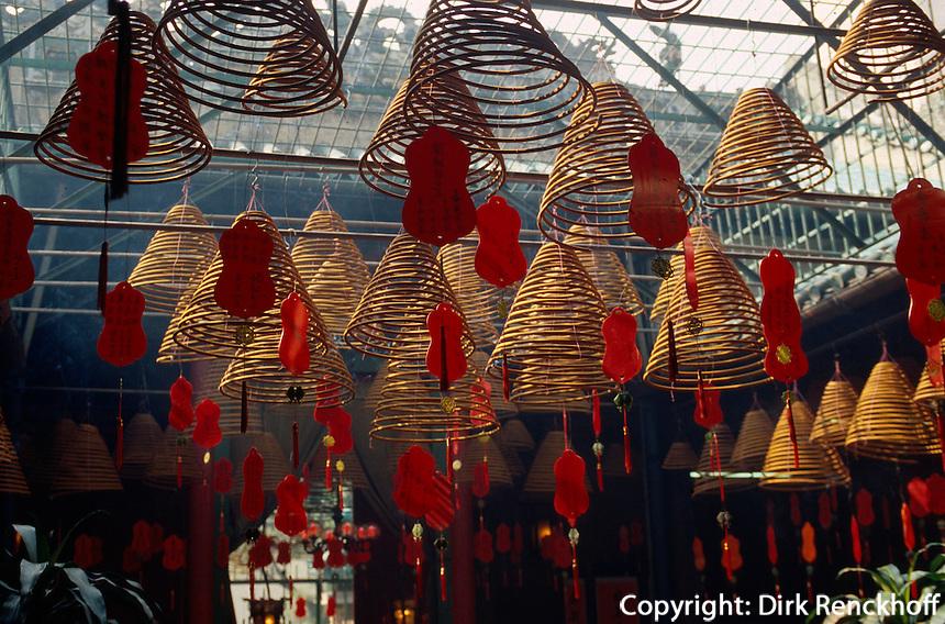 China, Hongkong-Yau Ma Tei, vor Tin Hau Tempel