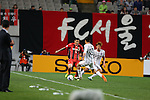 FC Seoul vs Sanfracce Hiroshima during the 2014 AFC Champions League Group F match on April 01, 2014 at the Seoul World Cup Stadium in Seoul, Korea Republic. Photo by World Sport Group