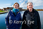Enjoying a stroll in the Tralee Bay Wetlands on Sunday, l to r: Lorraine and Denis Griffin.