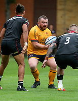 Thursday 9th September 20218 <br /> <br /> Andrew Warwick during the pre-season friendly between Saracens and Ulster Rugby at the Honourable Artillery Company Grounds, Armoury House, London, England. Photo by John Dickson/Dicksondigital