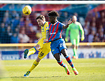 Inverness Caley v St Johnstone…08.04.17     SPFL    Tulloch Stadium<br />Paul Paton and Larnell Cole<br />Picture by Graeme Hart.<br />Copyright Perthshire Picture Agency<br />Tel: 01738 623350  Mobile: 07990 594431