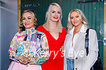 Enjoying the evening in Benners on Saturday, l to r: Nikki Breen, Sinead Harrington and Cliona Griffin.