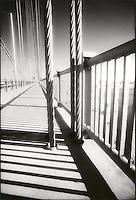 George Washington Bridge walkway<br />