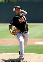 Keith Weiser / Modesto Nuts..Photo by:  Bill Mitchell/Four Seam Images