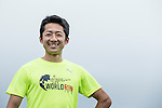 2015 Japan Track Male Champion Kazuhiko Oki poses for a photograph during the Wings for Life World Run on 08 May, 2016 in Yilan, Taiwan. Photo by Victor Fraile / Power Sport Images