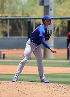Angel Gonzalez - Chicago Cubs 2021 spring training (Bill Mitchell)
