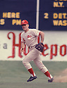 Cincinnati Reds Pete Rose(14) in action during a game from his career. Pete Rose played for 24 years with with 3 different teams,  was a 17-time All-Star, 1-time National League MVP in 1973.David Durochik/SportPics