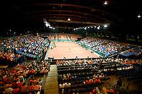 22-9-06,Leiden, Daviscup Netherlands-Tsjech Republic, Centercourt