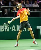 Rotterdam, The Netherlands, Februari 11, 2016,  ABNAMROWTT, Alexander Zverev (GER)<br /> Photo: Tennisimages/Henk Koster